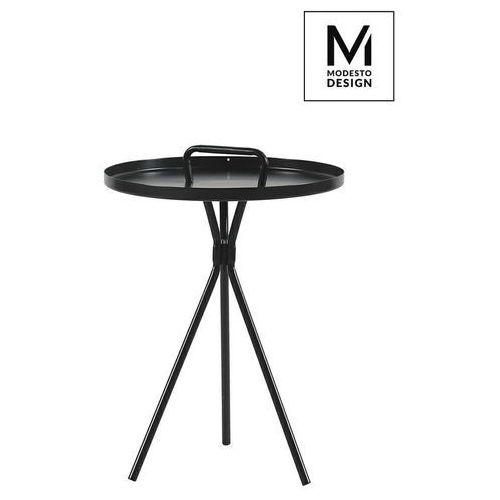 MODESTO stolik AMIGO czarny - metal (5900000049991)