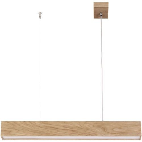 futura lux wood 90 32945 lampa wisząca zwis 1x18w led dąb marki Sigma