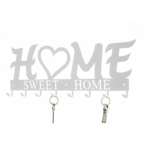Wieszak ścienny Home Sweet Home biały - biały, 176017 (12864809)