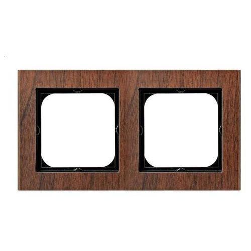 Ospel sonata ramka podwójna drewno (5907577447007)