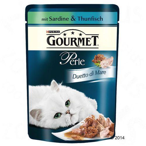 24 x 85 g Gourmet Perle Seaside Duo w super cenie! - Sardynki i tuńczyk (7613033578113)