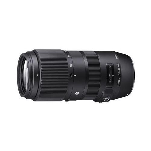 Obiektyw Sigma 100-400mm f/5-6.3 DG HSM Nikon (0085126729554)
