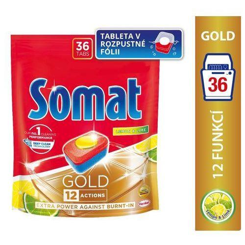 Somat Gold Lemon & Lime Tabletki do mycia naczyń w zmywarkach 691,2 g (36 x 19,2 g) (9000101320633)