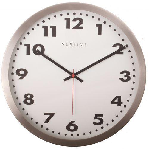 Nextime Zegar ścienny 2519 arabic śr. 25 cm