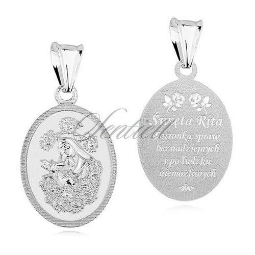 Sentiell Srebrny medalik pr.925 - święta rita