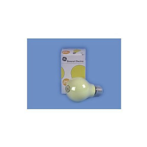 a19 230v/25w e-27 yellow frosted od producenta General electric