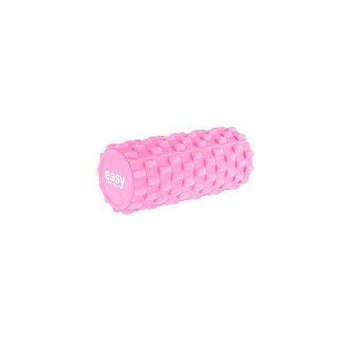 Easy Fitness Roller do masażu- Różowy - Różowy (5903140100430)