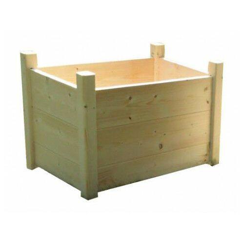 Drewniana prostokątna donica ogrodowa 15 kolorów - Umbra, Donica-drewniana-nr-19