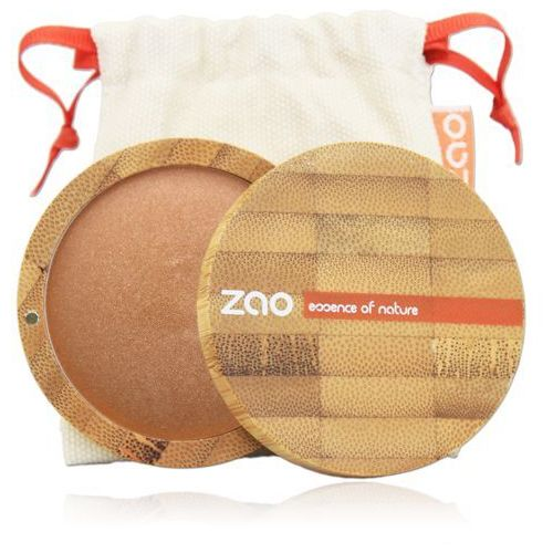 Zao - make up organic Puder brązujący zao - 342 - brązowo-miedziany