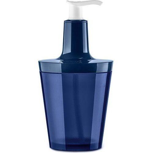 Koziol Dozownik do mydła flow velvet blue