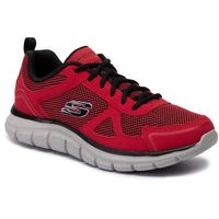 Buty SKECHERS - Bucolo 52630/RDBK Red/Black