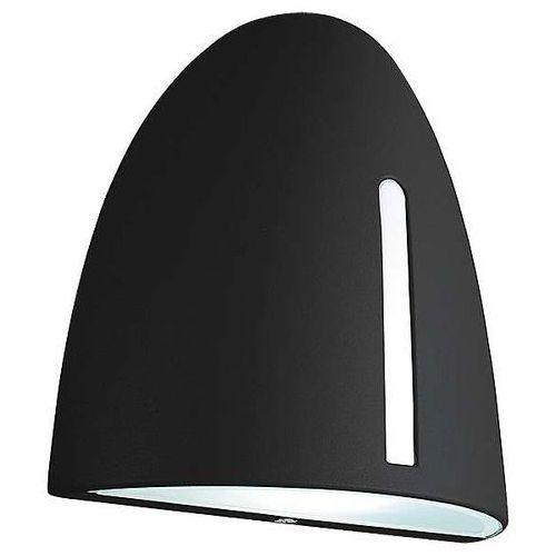 Rabalux Ścienna lampa ogrodowa glasgow 8519 elewacyjna oprawa zewnętrzny kinkiet przyścienny outdoor ip44 czarny
