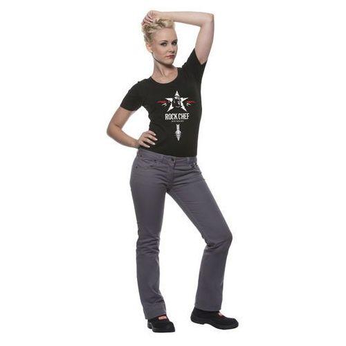 Spodnie damskie, rozmiar 32/34, popiel