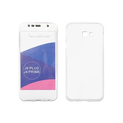 Samsung galaxy j4 plus - etui na tablet full body slim - przezroczysty marki Etuo full body slim