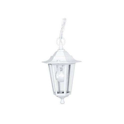 Eglo 22465 lampa wisząca ogrodowa laterna 5 biała