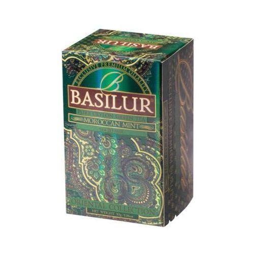 Basilur  70419 20x1,5g moroccan mint herbata zielona kopertowana