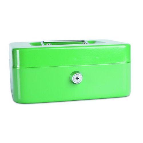 Kasetka na pieniądze , średnia, 200x90x160mm, zielona marki Donau