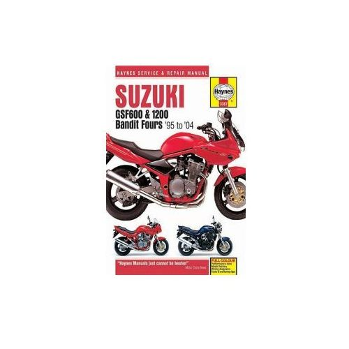 Suzuki GSF600, 650 & 1200 Bandit Fours Motorcycle Repair Manual (9781785210518)