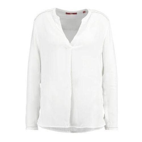 s.Oliver bluzka damska 40 kremowy, kolor beżowy