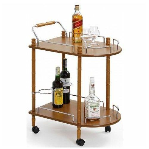 Barowy stolik na kółkach lifton - buk marki Producent: profeos