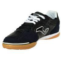 Męskie skórzane buty halowe top flex 301 czarny 43 marki Joma