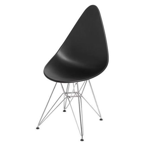 D2. Krzesło rush dsr czarne - czarny
