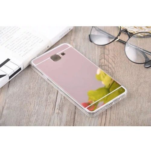 case różowy | etui dla samsung galaxy a3 (2016) - różowy marki Slim mirror