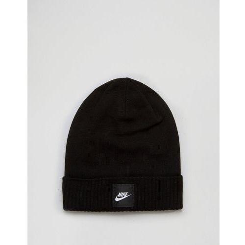 Nike  swoosh beanie in black 803734-010 - black