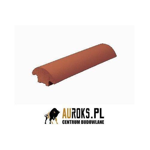 Listwa ogrodzeniowa klinkierowa kolor rubinowa czerwień 79x250x42 mm marki Klinkier przysucha