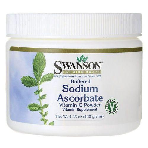 Witamina C buforowany l-askorbinian sodu Sodium Ascorbate 120g SWANSON