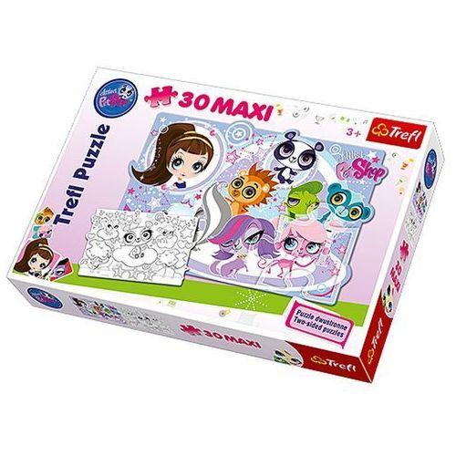 Trefl Puzzle maxi 30 littlest pet shop przygody milusińskich zwierzątek