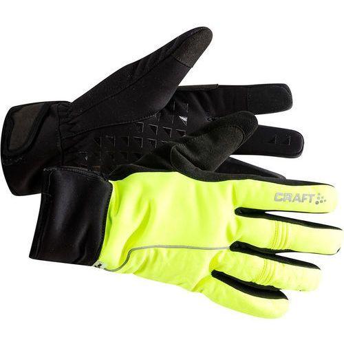 Craft siberian 2.0 rękawiczki, flumino/black l | 10 2019 rękawiczki zimowe (7318572965102)