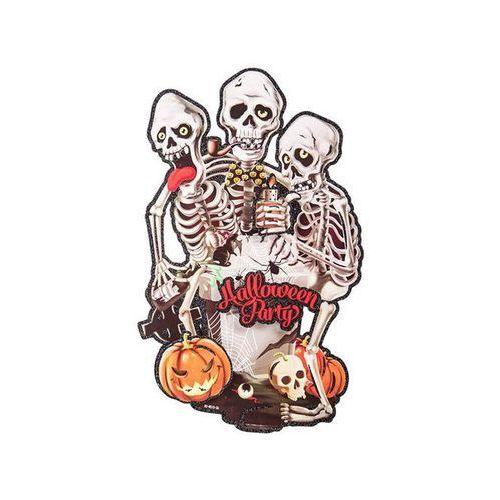 Dekoracja ścienna na Halloween