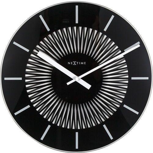 Nextime Zegar ścienny pulsujący radial 35 cm (8639) (8717713021780)