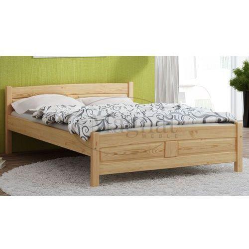 Łóżko drewniane julia 140x200 marki Magnat - producent mebli drewnianych i materacy