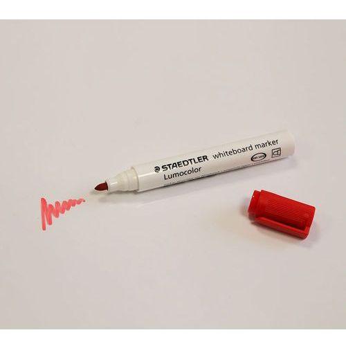 Staedtler Czerwony marker suchościeralny do planerów i białych tablic lumocolor