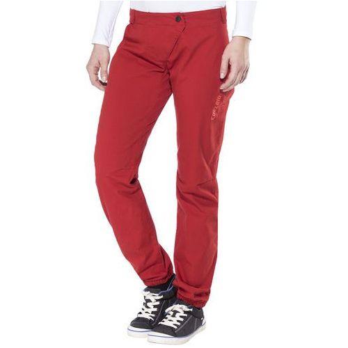 rope rider spodnie długie kobiety czerwony 34 2017 spodnie wspinaczkowe marki Edelrid