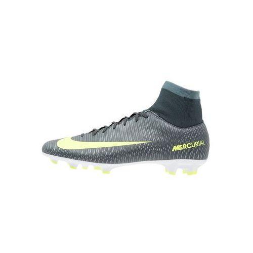 Nike Performance MERCURIAL VICTORY VI FG Korki Lanki seaweed/volt/hasta/white/metallic silver z kategorii Buty sportowe dla dzieci