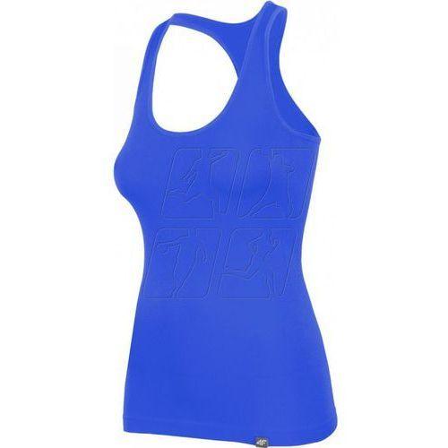 Koszulka  w h4l17-tsd007 niebieska, 4f, 36-38