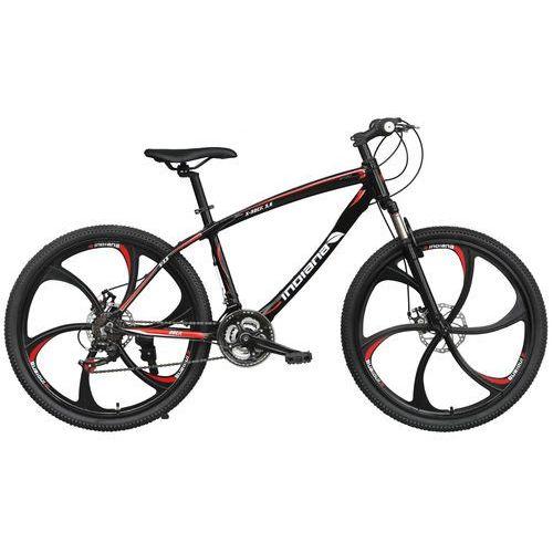 Rower INDIANA X-Rock 3.6 Czarno-Biały + 5 lat gwarancji na ramę! + DARMOWY TRANSPORT!