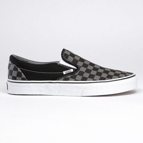 buty VANS - Vans Classic Slip-On black pewter checkerboard (BPJ) rozmiar: 38.5