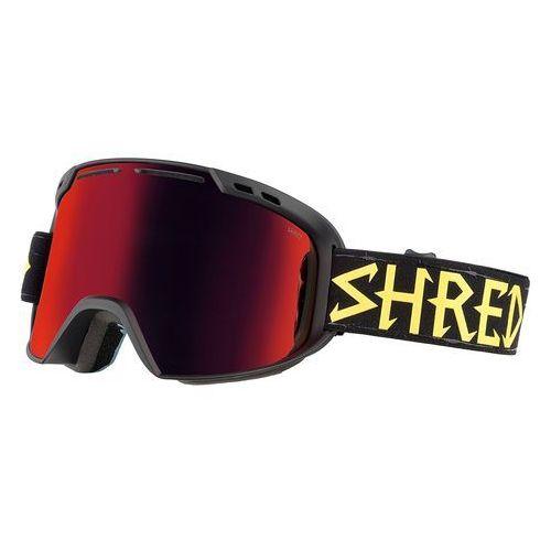 Shred Gogle narciarskie, snowboardowe amazify black walnuts cbl/blast s2