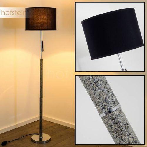 Hofstein Denver lampa stojąca chrom, marmur, 1-punktowy - - obszar wewnętrzny - denver - czas dostawy: od 2-4 dni roboczych (4260303163536)