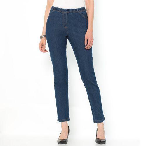 Jeansy denim stretch, krój zwężany marki ANNE WEYBURN