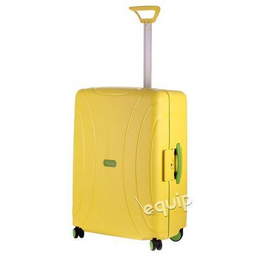 Walizka średnia American Tourister Lock'n'Roll + gratis poduszka podróżna - sunshine yellow