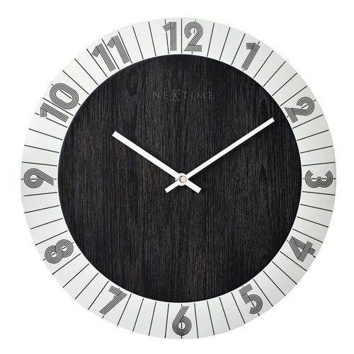 Zegar ścienny Flare srebrny, 3198ZI