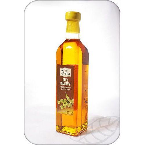Olej sojowy 500ml marki Ol'vita