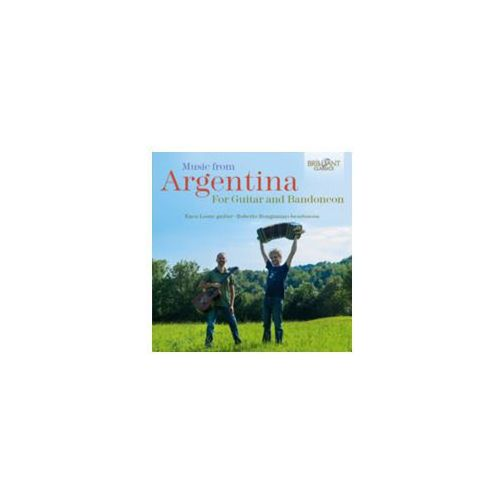 Brilliant classics Music from argentina for guitar and bandoneon (5028421955278)