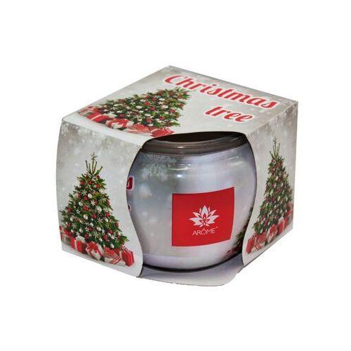 Arome Świeczka zapachowa Frosted Spruce, 85 g (8595556455876)