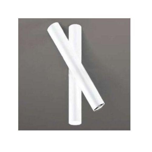 Downlight LAMPA sufitowa YABU 7262 Shilo metalowa OPRAWA tuby białe, kolor Biały